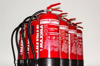 Tűzvédelem, Tűzvédelmi tanácsadás, Tűzoltókészülékek